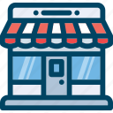 buy, in-store, promotion, seo, shop, store icon