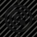 arrow, arrow icon, goal, goal icon, target, target icon icon
