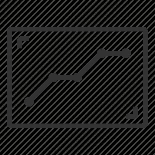 analytic, data, database, document, graph icon