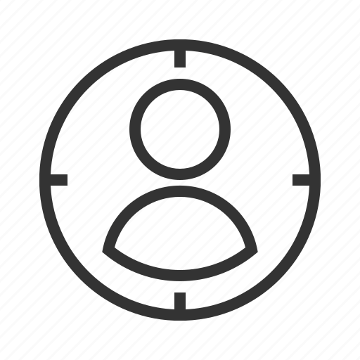 audience, business, marketing, success, target icon