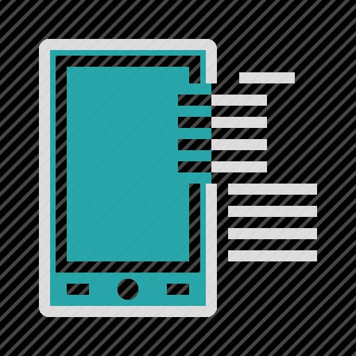 communication, device, marketing, mobile, online icon