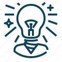 business, creation, generator, idea icon