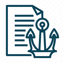 ancor, document, documents, text icon