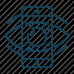 design, display, retina, screen icon