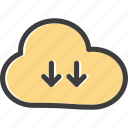 arrow, downloadcloud, engine, optimization, search