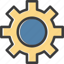 configuration, engine, gear, search, settings