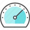 display, loading, meter, speed, speedometer, test, web icon
