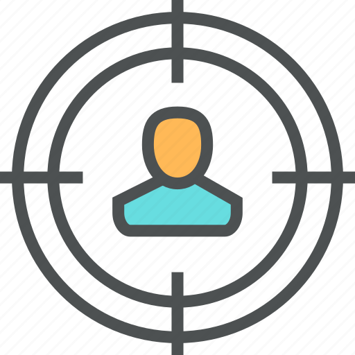 Audience, employee, hiring, person, recruitment, target, user icon - Download on Iconfinder