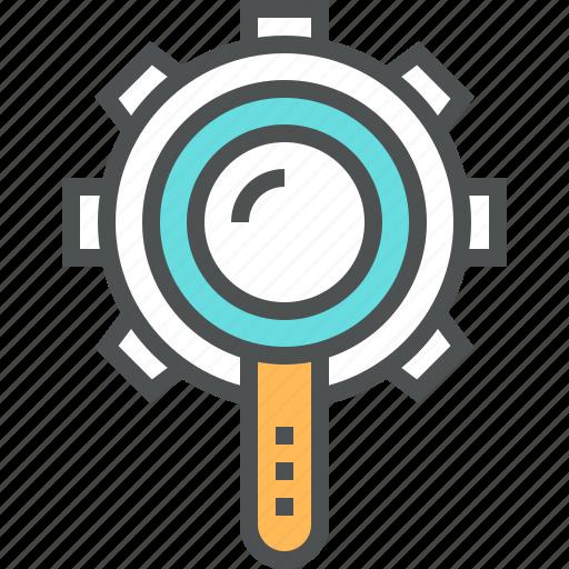 engine, internet, optimization, process, search, seo, web icon
