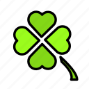 clover, relaxation, seasonal, vacation icon