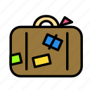 luggage, relaxation, seasonal, vacation icon