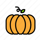 pumpkin, relaxation, seasonal, vacation icon