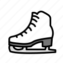 relaxation, seasonal, skating, vacation icon