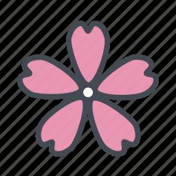 cherry blossom, flower, garden, nature, sakura, spring icon