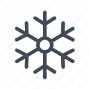 aircon, christmas, cold, snow, snowflake, winter icon