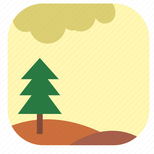 autumn, fall, forest, nature icon