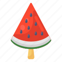 watermelon, popsicle, fruit, food, juicy fruit, tropical watermelon