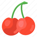 wild, cherries, wild cherries, fruit, healthy food, food, stone fruit