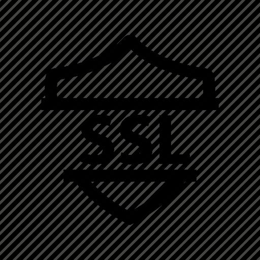 defense, shield, ssl, tls icon