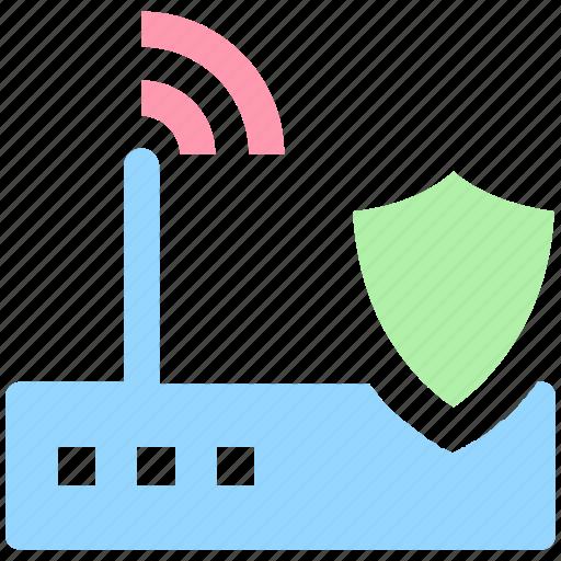 device, internet device, security, shield, wifi, wifi device, wifi signal secure icon