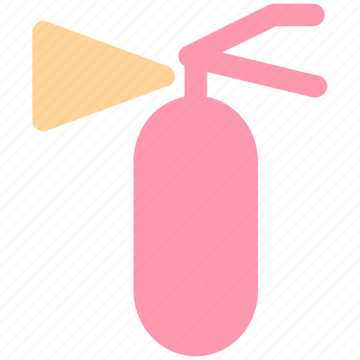 bottle, can, extinguisher, fire, gas, safety, warning icon