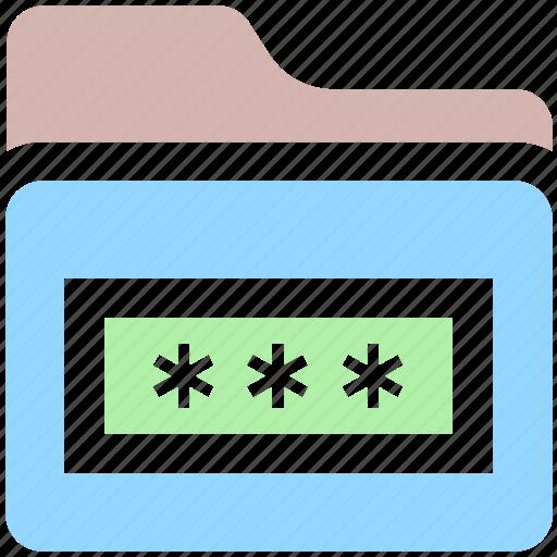 folder, folder code, folder secure, internet password, password, security icon