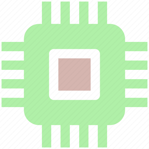 cpu, gpu, guard, network, processor, security icon