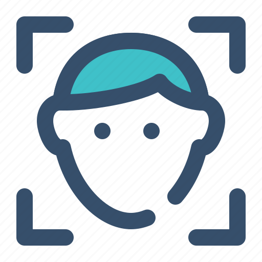Face, recognition, biometric, security icon - Download on Iconfinder