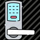 combination, door, lock, padlock, key, number, password