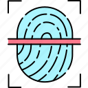 security, sensor, fingerprint, unlock, verification
