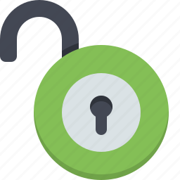 lock, password, password protect, protection, safety, security, unlock icon