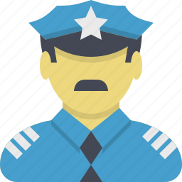 guardian, patrol, police, police officer, policeman, protection, protector icon