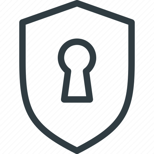 firewall, lock, protect, protection, security, shield icon