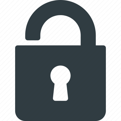 Lock, open, protect, protection, secure, security icon - Download on Iconfinder
