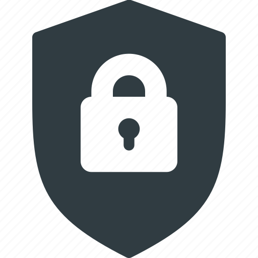 block, firewall, lock, protect, protection, security, shield icon