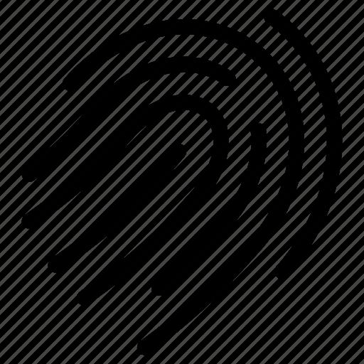 access, alert, authenticate, creative, database, digital, finger, finger-print, grid, line, net, online, press, print, protect, protection, restriction, safe, safeguard, secure, security, shape, tap, unique icon