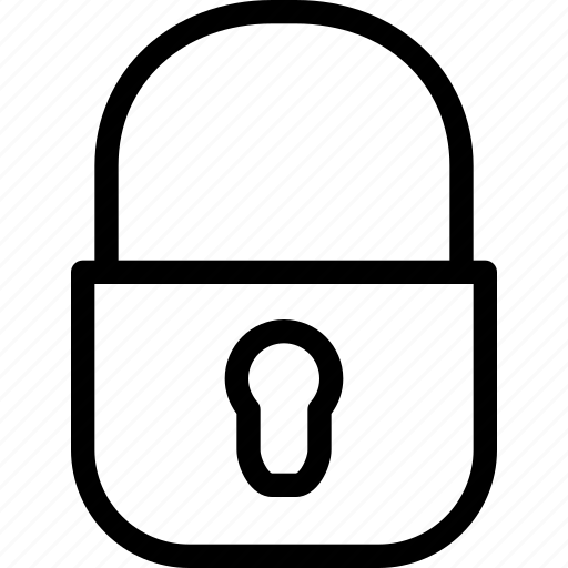 access, alert, close, creative, grid, key, line, lock, private, protect, protection, restricted, safe, safeguard, secure, security, shape, unlock icon