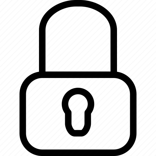 access, alert, close, creative, grid, key, line, lock, locked, password, private, protect, protection, restriction, safe, safeguard, secure, security, shape, unlock icon