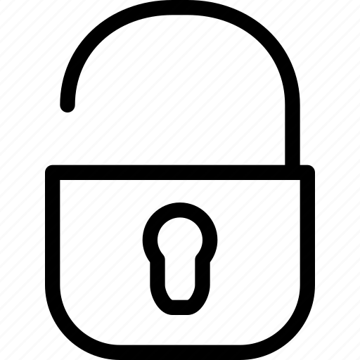 access, alert, authenticated, checked, clear, creative, grid, key, line, open, password, private, protect, protection, safe, safeguard, secure, security, shape, unlock icon