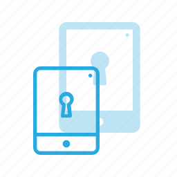 lock, protect, protection, security, tablet icon