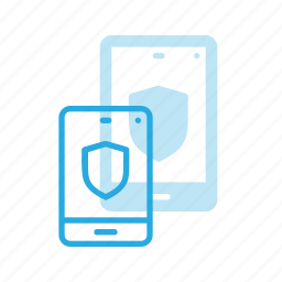 mobile, protect, protection, security, smartphone icon