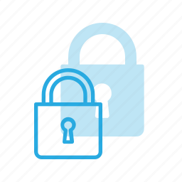 closed, lock, protect, protection, securel, security icon