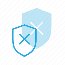 error, firewall, protect, protection, security, shield icon