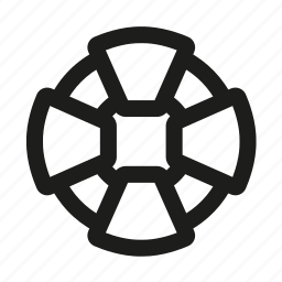 circle, guardar, help, lifebuoy, safety, save icon