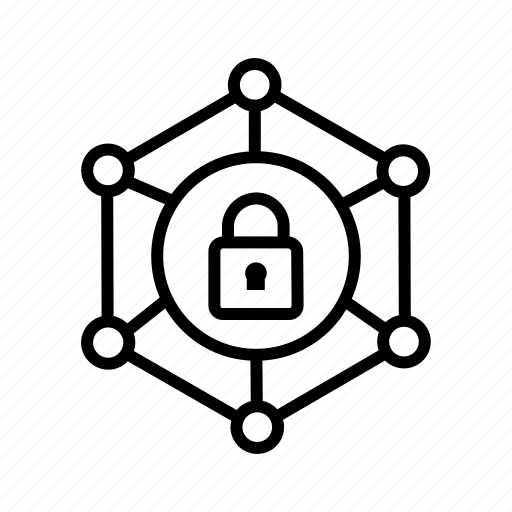 cyber security, locked, protection, safety, security, web security icon