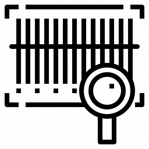bar code, scan, scan code icon