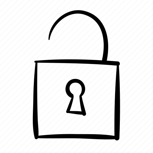 insecure, secure, security, unlock, unlocked icon