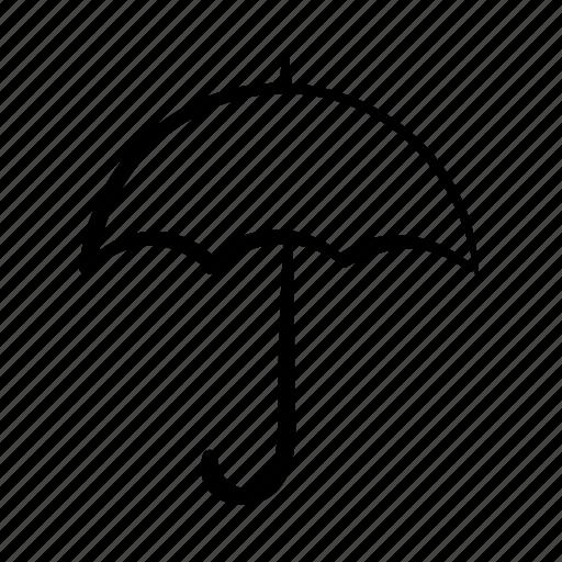 rain, secure, security, umbrella, weather, winter icon