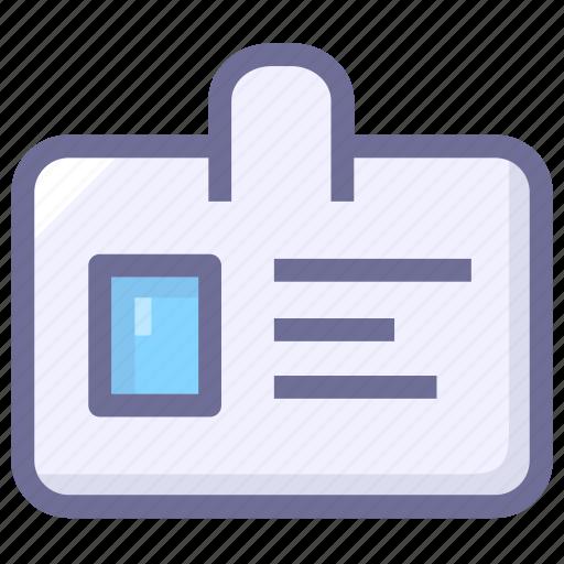 enter, id card, job, pass icon