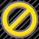 cancel, forbidden icon